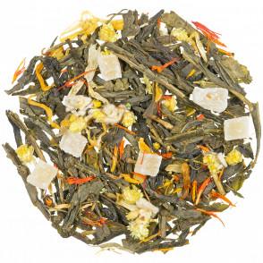 Zeleni čaj s aromom Veseli mango