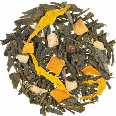 Zeleni čaj s aromom đumbira i limuna