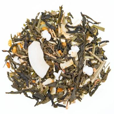 Zeleni čaj s aromom Kokosov poljubac