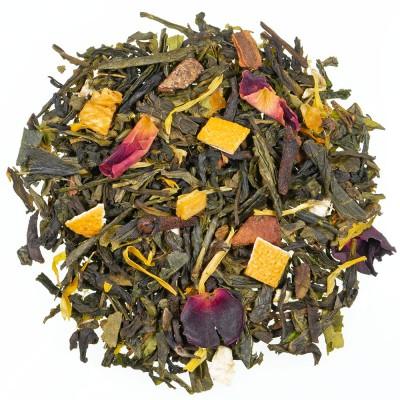 Zeleni čaj s aromom Zimski dan