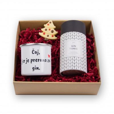 Poklon paket Čaj, jer je prerano za gin