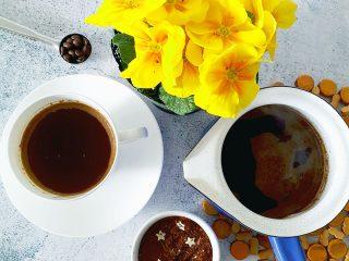 Turska kava s rooibos čajem